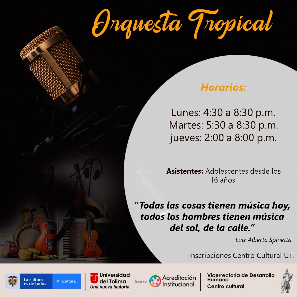 Orquesta tropical